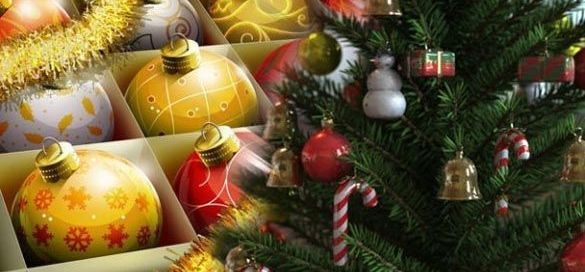 árbol de navidad bolas decoración