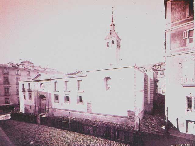 antigua iglesia nuestra señora de la almudena