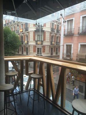 Terraza,mercado san idelfonso,fuencarral,madrid