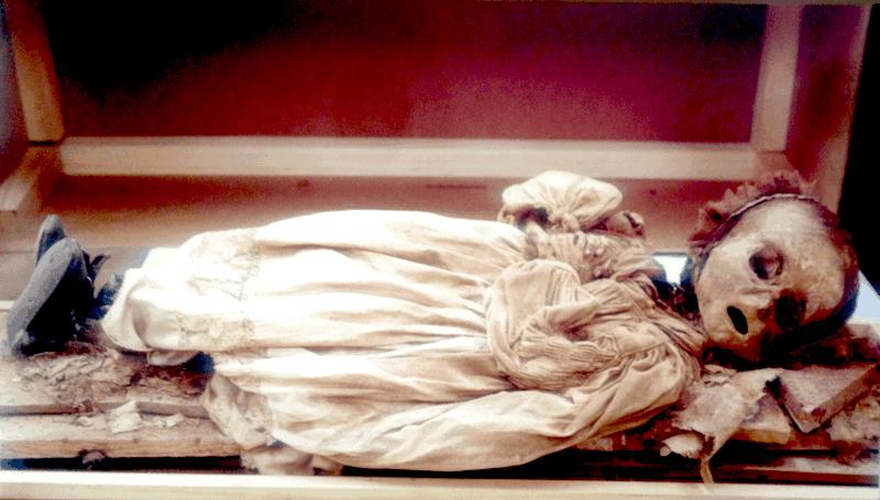 momia,cervantes,restos,niño,tumba
