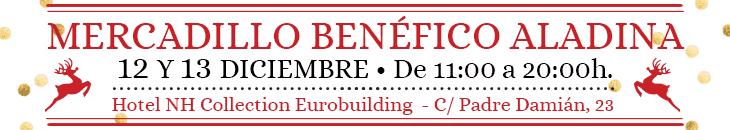 banner mercadillo fundación aladina