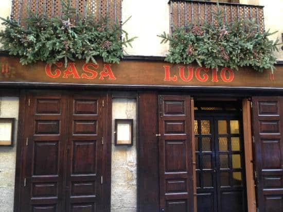 Casa Lucio,madrid,tapas,huevos estrellados, ruta de tapas
