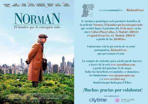 norman,estreno,madrid,richard gere,alejandra silva, ocio,planes en madrid, estreno benéfico, eventos en madrid