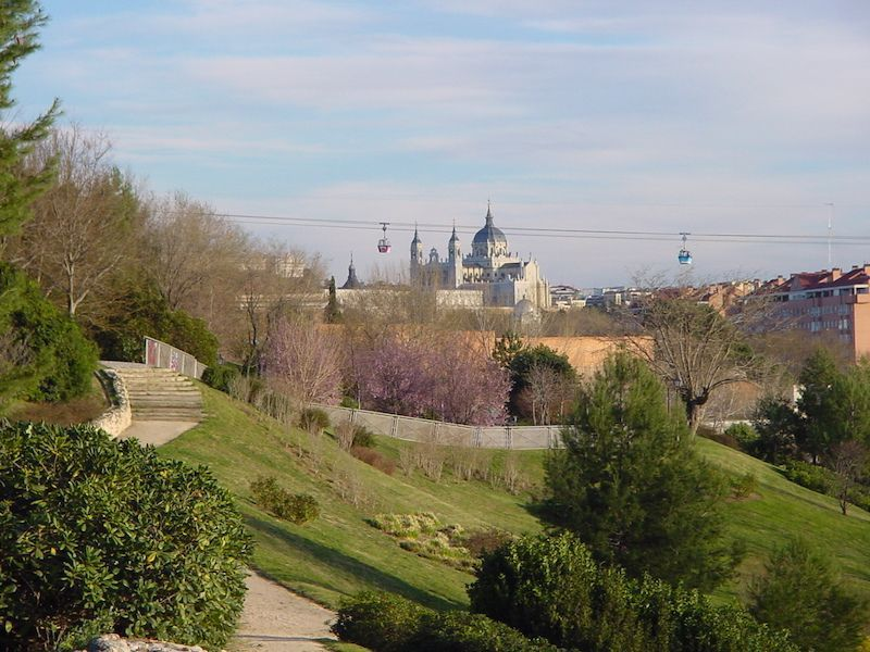 parque del oeste, madrid