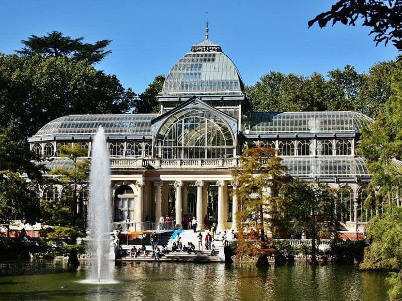 Palacio de Cristal, Parque del Retiro, Madrid