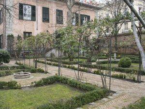 Jardín del Príncipe de Anglona, Madrid, La Latina, jardín