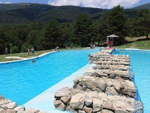 las berceas, piscinas naturales, cercedilla, madrid