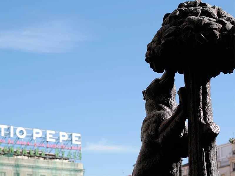 Oso, madroño, Madrid, escudo, El oso y el madroño, Puerta del Sol,