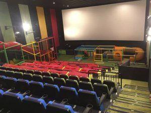 Sala Junior, cine, niños, Yelmo Cines, Centro Comercial Islazul, Centro Comercial TresAguas, tobogán, juegos