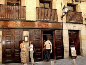 castizos, bares, Casa Lucio, Casa Julio, Casa Amadeo, La Dolores, El Pescador