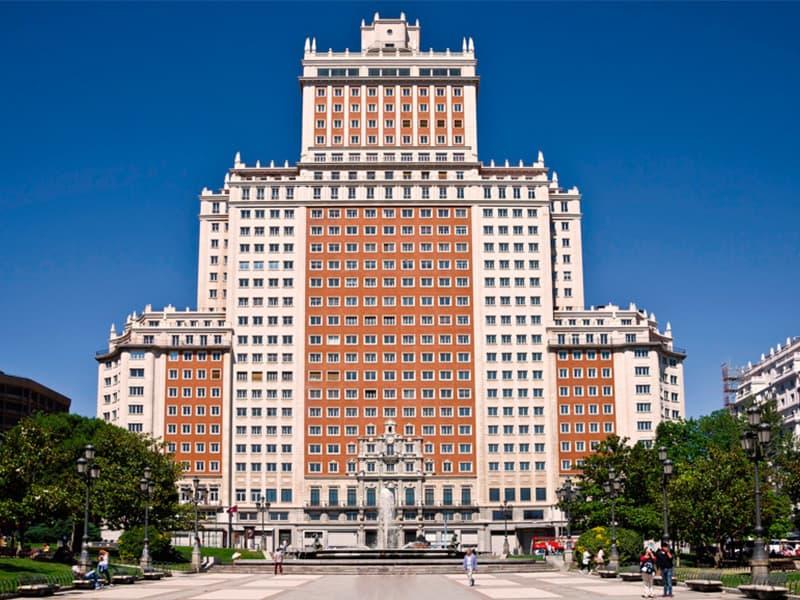 Plaza de España, plaza, Madrid, Gran Vía