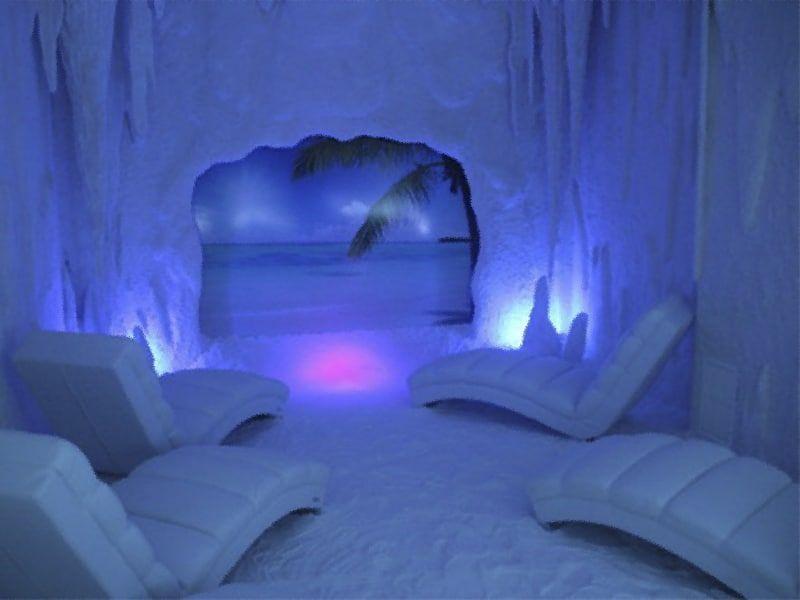 Cuevas de sal, sal, haloterapia, Salt Room, Madrid, Polonia