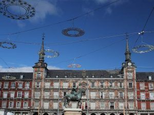 Plaza Mayor, Inquisición, Plaza Real, Navidad, mercado navideño, Madrid