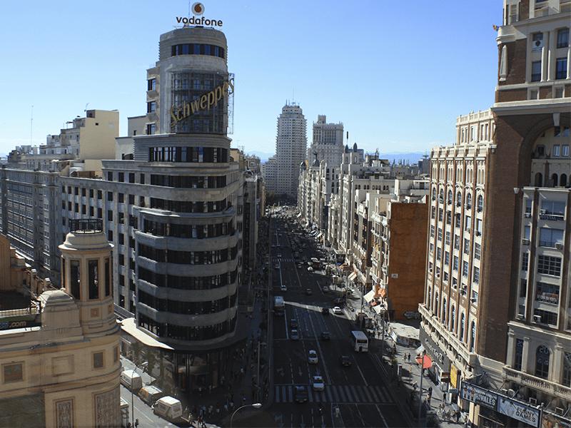 Miradores, Madrid, Círculo de Bellas Artes, Palacio de Cibeles, Cerro del Tío Pío, Parque de las Siete Tetas, Faro de Moncloa, Gourmet Experience Callao