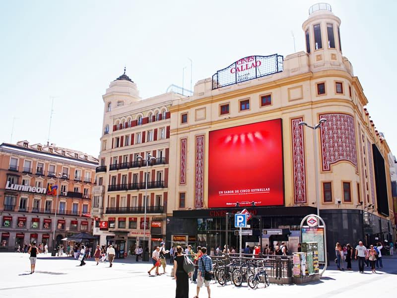 curiosidades, Madrid, Gran Via