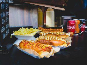 hot dogs, perritos calientes, Madrid
