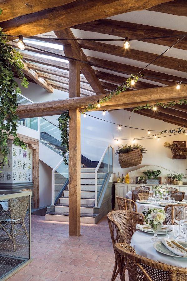 Sottosopra interior restaurante en Madrid