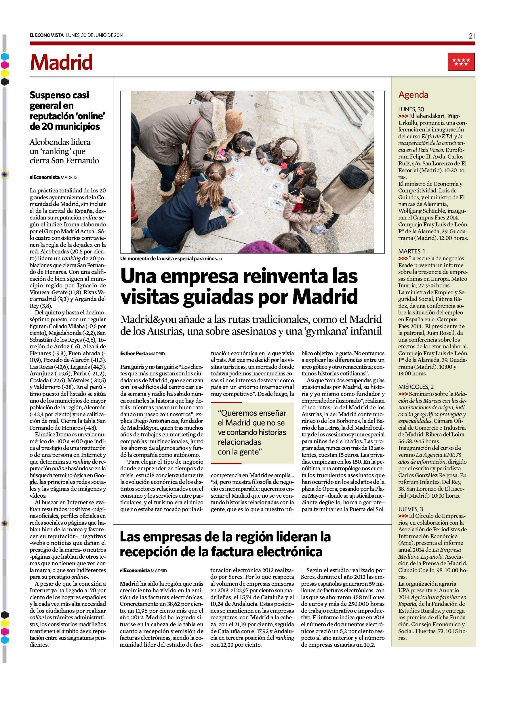 el Mundo Madrid and you