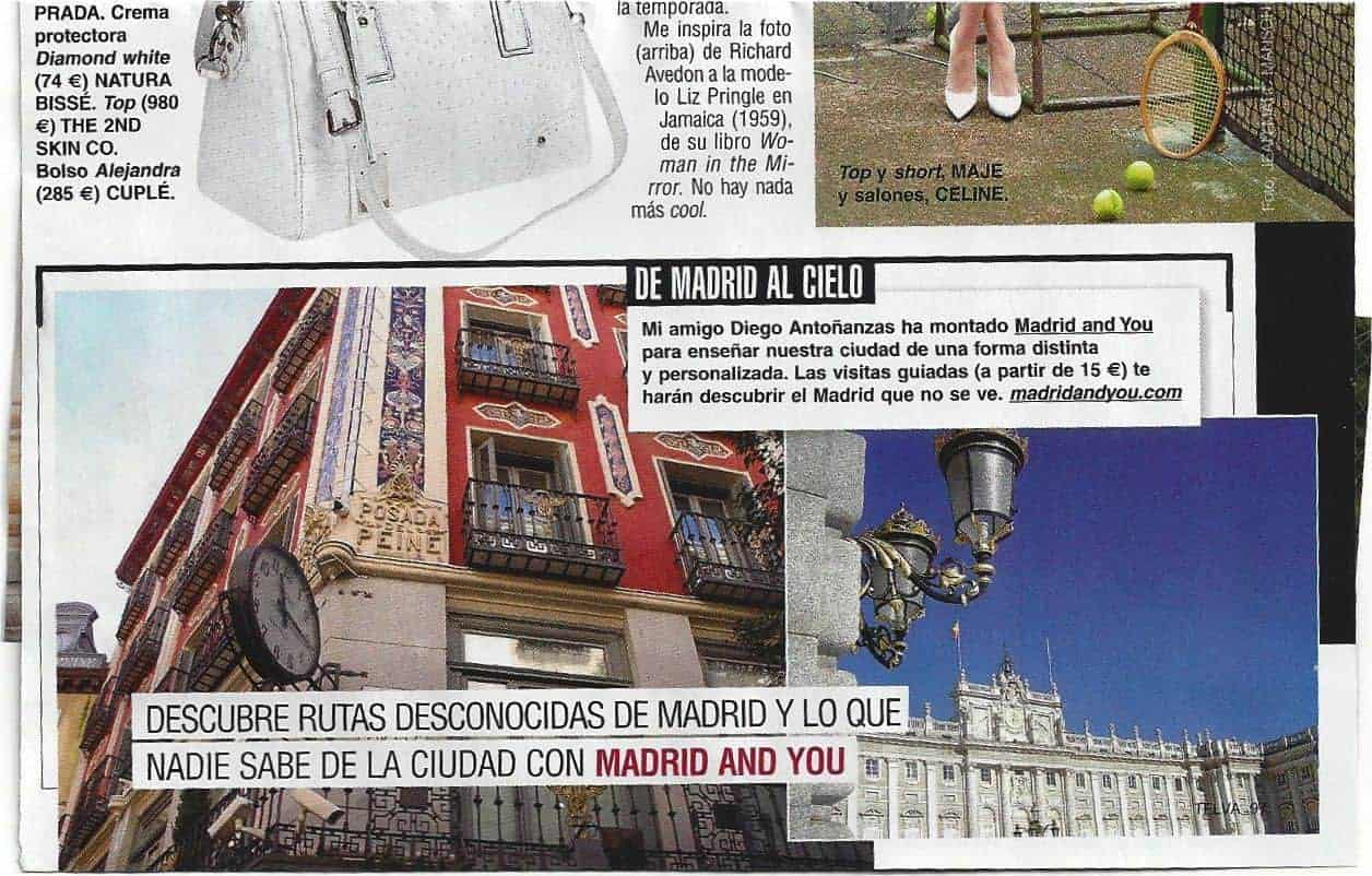 Telva clipping Madrid and You