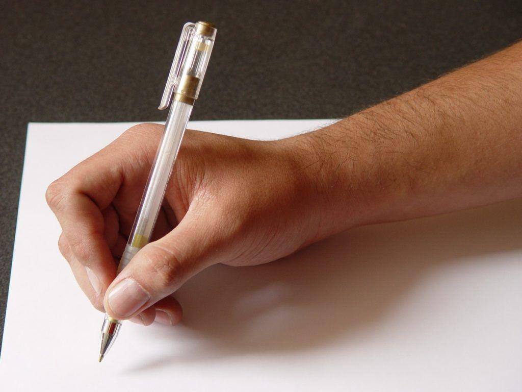 escribir una carta, planes para estar en casa, coronavirus