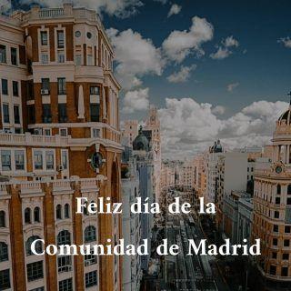 Hoy celebramos el día de la Comunidad de Madrid con un paseo (cortito y respetando las distancias, eso sí) 🎈🙌