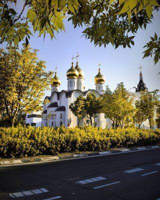 Lugares secretos de Madrid! . Hoy te traemos un nueva gema escondida de Madrid, que muy pocos conocen! .  Se trata de la Catedral Ortodoxa Rusa de Santa María Magdalena y se encuentra a tan solo unos minutos andando de la estación de metro Pinar del Rey! Un pedacito de Rusia en la capital de España!  . . . . . . . . . . . #madridsecreto #timeoutmadrid #madridmola #madridtourism #visitmadrid #visitamadrid #madrid #madridespaña #madridspain #madridcultura #madridtequiero #madridjoven #madridcapital #madridcity #madridciudad #madridlovers #madriddesconocido #madridcentro #queverenmadrid #lugaresdemadrid #madrid❤️ #mimadrid #miqueridamadrid
